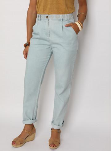 JEAN LULU - Bleach - Pantalons & Combinaisons - Vêtements Bio - Palem Brand