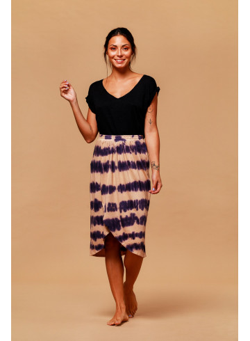 JUPE LOKE - TIE AND DYE - Jupes & Shorts - Vêtements Bio - Palem Brand