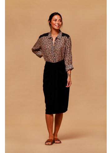 CHEMISE KOPACABA - Tops & chemises - Vêtements Bio - Palem Brand
