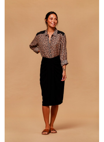 SHIRT KOPACABA - Black - Tops - Vêtements Bio - Palem Brand