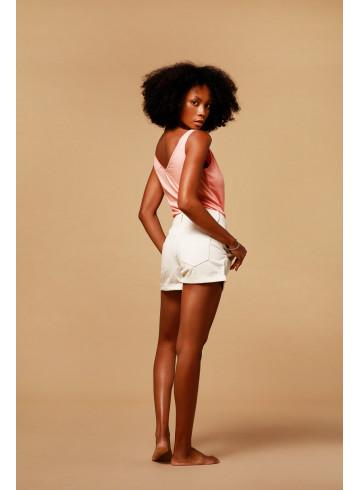SHORTS BALMY - Sea Salt - Skirts & Shorts - Vêtements Bio - Palem Brand
