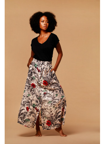 MANUI T-SHIRT - Black - Tops - Vêtements Bio - Palem Brand