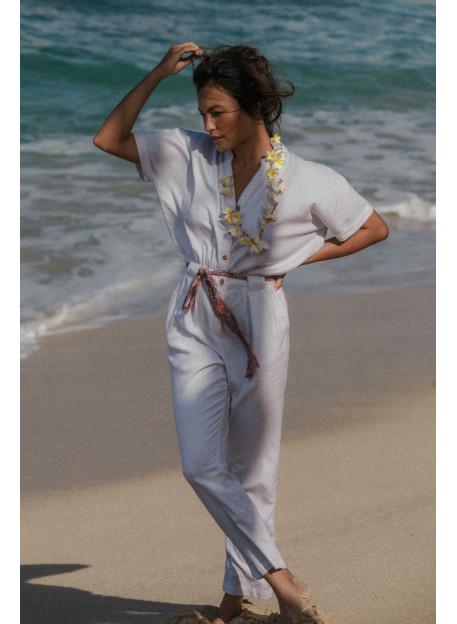 JUMPSUIT BRILLO - Trousers & Jumpsuits - Vêtements Bio - Palem Brand