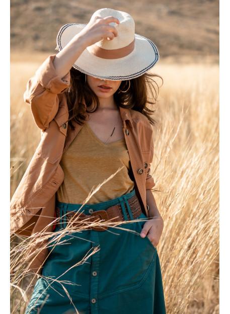 SKIRT SAVANA - Skirts & Shorts - Vêtements Bio - Palem Brand