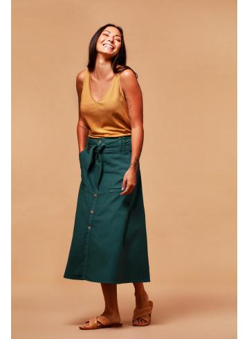 JUPE SAVANA - Méditerranée - Jupes & Shorts - Vêtements Bio - Palem Brand