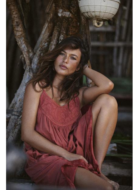 DRESS ROMY - Dresses - Vêtements Bio - Palem Brand