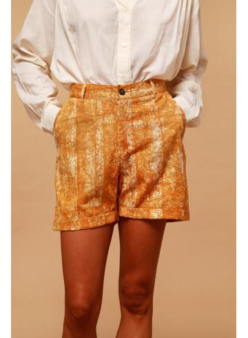 SHORT BOSSA - Sunshine - Jupes & Shorts - Vêtements Bio - Palem Brand