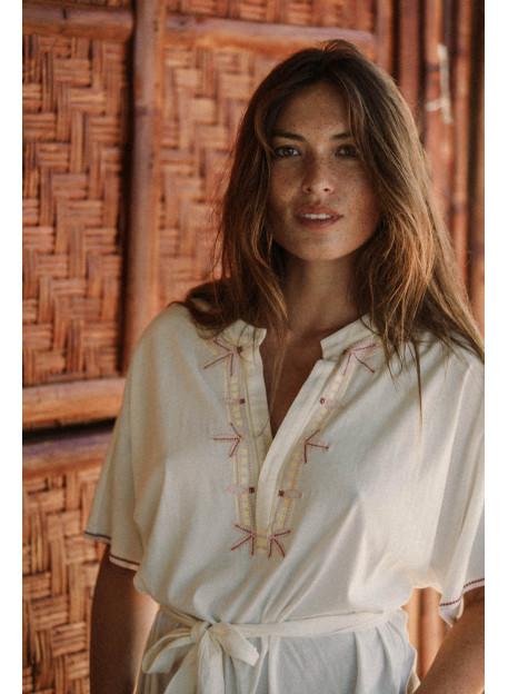 DRESS SARI - Dresses - Vêtements Bio - Palem Brand