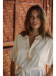 ROBE SARI - robe-coton-bio-ethique - Vêtements Bio - Palem Brand