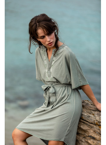 DRESS SARI - Seaspray - Dresses - Vêtements Bio - Palem Brand