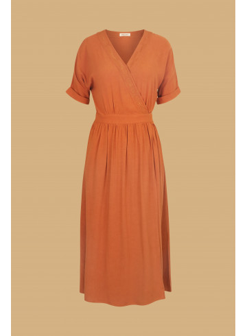 DRESS VICTORIA - Dresses - Vêtements Bio - Palem Brand