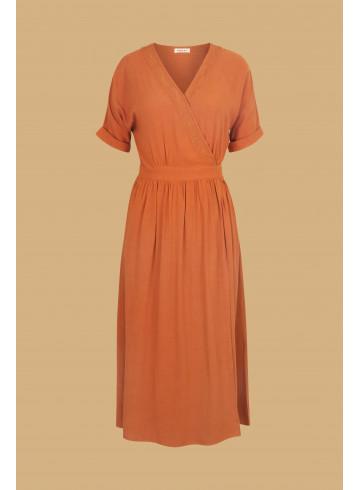 ROBE VICTORIA - Rust - Robes - Vêtements Bio - Palem Brand