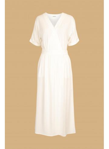 DRESS VICTORIA - Ecru - Dresses - Vêtements Bio - Palem Brand