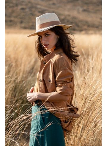VESTE MARISSA - Camel - Vestes & kimonos - Vêtements Bio - Palem Brand