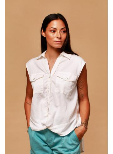 SHIRT FLORES - Tops - Vêtements Bio - Palem Brand