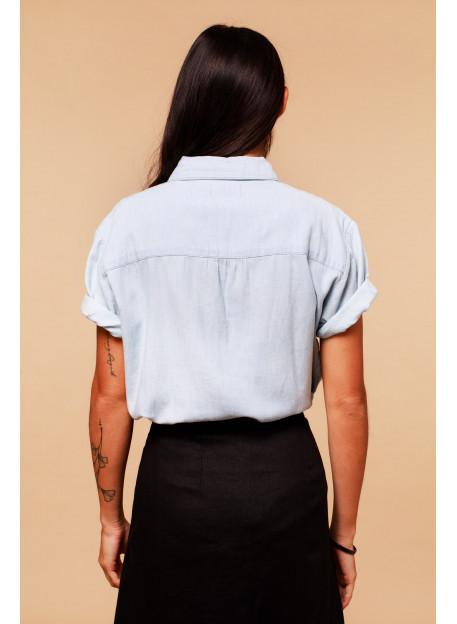 SHIRT FLORA - Tops - Vêtements Bio - Palem Brand