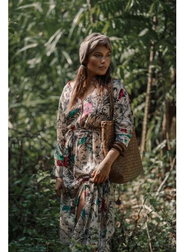 ROBE PAOLINA - Jungle - Robes - Vêtements Bio - Palem Brand