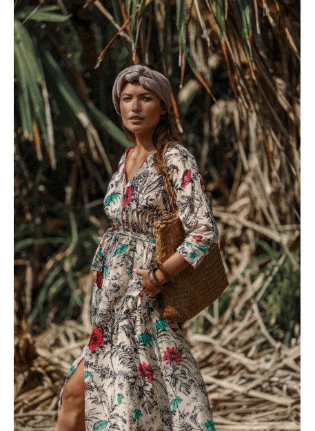 DRESS PAOLINA - Dresses - Vêtements Bio - Palem Brand