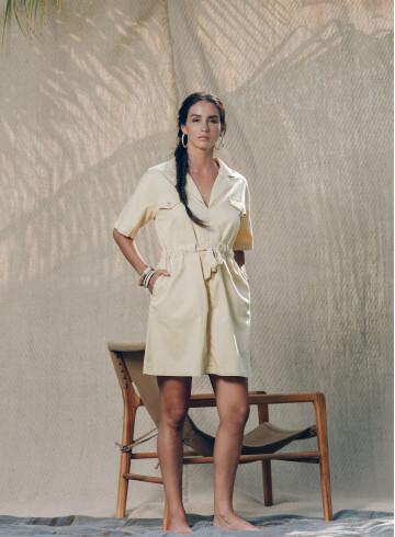 EMIRI DESERT DRESS -PALEM