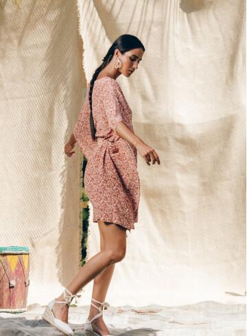 AATA PAISLEY DRESS -PALEM
