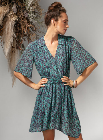 ROBE EDENA - Robes - Vêtements Bio - Palem Brand