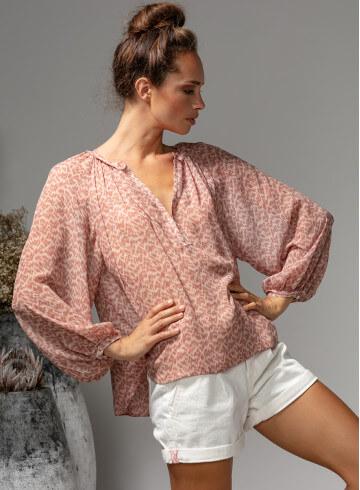 BLOUSE OLINA - Accueil - Vêtements Bio - Palem Brand