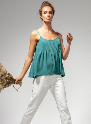 TANK-TOP NOMA MINT - Tops - Vêtements Bio - Palem Brand