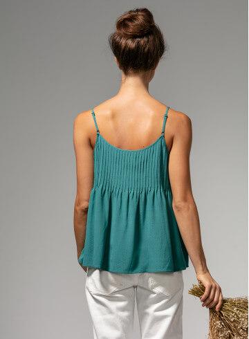 DEBARDEUR NOMA MENTHE - Tops & chemises - Vêtements Bio - Palem Brand
