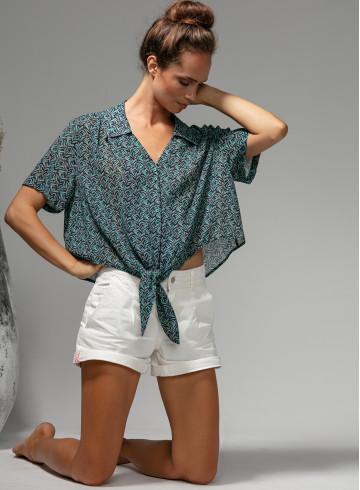 CHEMISE APOLITA - Tops & chemises - Vêtements Bio - Palem Brand