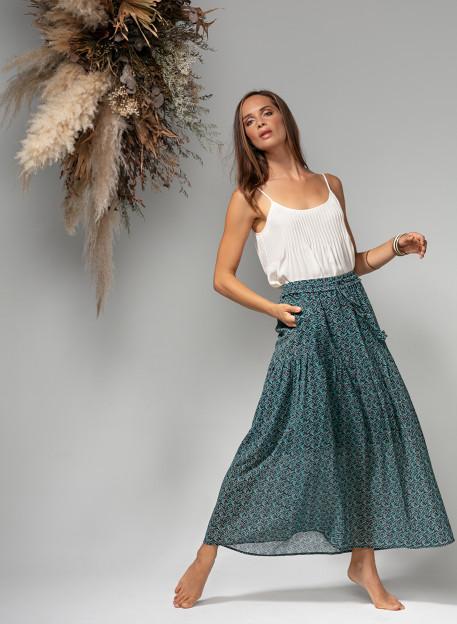 SKIRT HAIMI - Skirts & Shorts - Vêtements Bio - Palem Brand