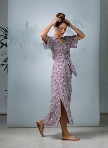 DRESS ALOHA - Dresses - Vêtements Bio - Palem Brand